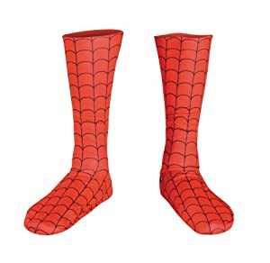 Kids Spiderman Costume Boot Covers - Child Std. from Disguise Inc