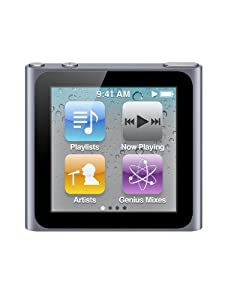 Apple iPod nano 8 GB, colore: Graphite [Importato da Germania]