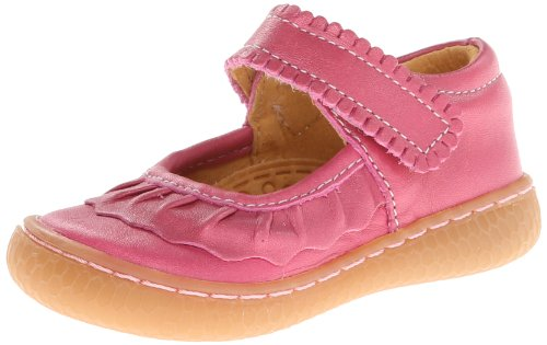Livie & Luca Baby Girl'S Ruche (Infant/Toddler) Magenta Flat 7 Toddler M front-178964