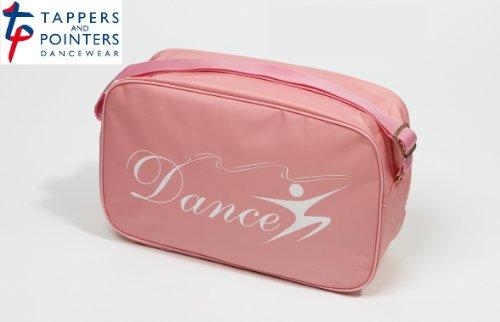 GIRLS BALLET, TAP, JAZZ DANCE SHOULDER BAG IN PINK