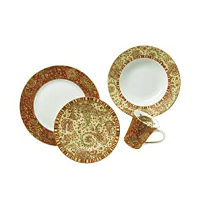 Click to buy Dinnerware Sets: 222 Fifth Maharana Dinnerware Set, Service for 4 from Amazon!