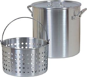 Brinkmann 812-9124-S 24-Quart Boiling Pot with Basket