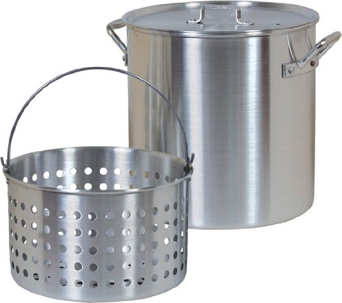 Brinkmann 812 9124 S 24 Quart Boiling Pot With Basket