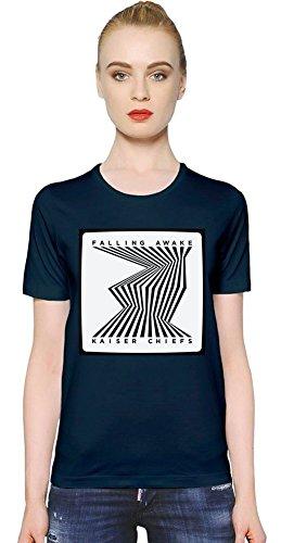 Kaiser Chiefs Falling Awake T-shirt donna Women T-Shirt Girl Ladies Stylish Fashion Fit Custom Apparel By Genuine Fan Merchandise XX-Large