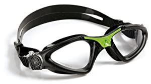 Aqua Sphere Kayenne Goggle (Clear/Black), Regular