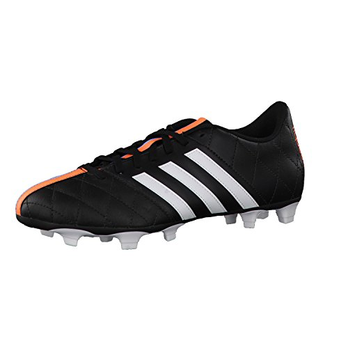 Adidas - Adidas 11 Questra FG Leather Scarpini Calcio Neri Pelle B34124 - Nero, 40,5