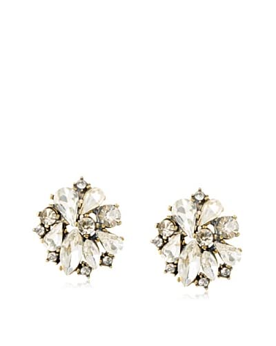 Leslie Danzis Swirl Crystal Post Earrings
