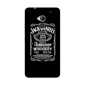 Abhivyakti Food&booze Jack Daniel Hard Back Case Cover For HTC One Max