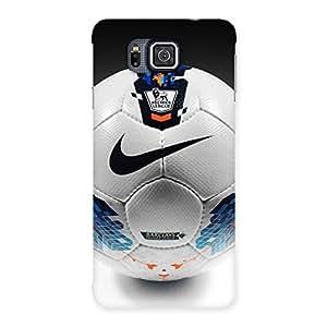 Ajay Enterprises Extant Soccer Back Case Cover for Galaxy Alpha