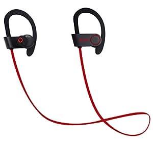 bluetooth headphones w usb car charger blayz sports sweatproof bluetooth in ear. Black Bedroom Furniture Sets. Home Design Ideas