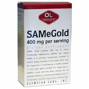 Olympian Labs Same Gold, 400Mg, Enteric Coated Tablets 30 Ea