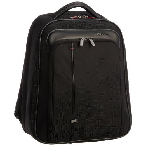 [サムソナイト] SAMSONITE Essence Pro / エッセンシス プロ ラップトップ バックパック(ビジネスバッグ・リュック・リュックサック・軽量・ラップトップ・PC/タブレット収納・保証付) R32*09004 09 (ブラック)