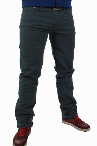 MAC Herren Jeans 0716 Arne 01-Stretch modern fit, 33/34, petrolfarben