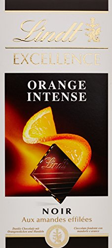 lindt-noir-aux-amandes-effilees-orange-intense-la-tablette-100g