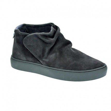 SATORISAN 162019 Alfama gray grigio scarpe stivaletti donna pelle strappo 40