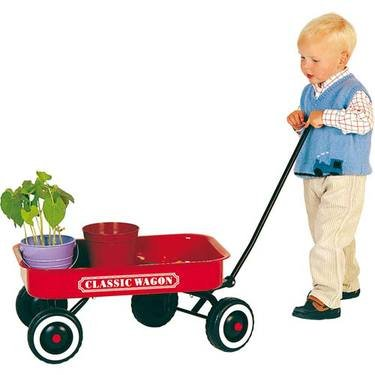Red Pull Cart 24154 5060008932111 By Great Gizmos