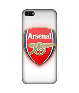chnno Arsenal 3D Printed Back cover for Apple iPhone 5s -Multicolor