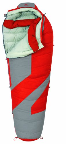 Kelty Light Year 0 Degree Down Sleeping Bag, Regular , Molten Lava