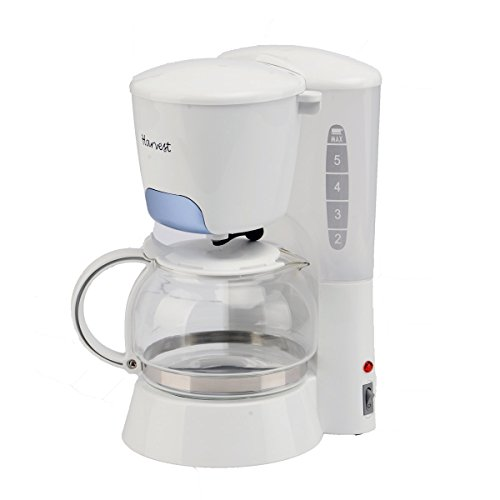 PHY 4-Cup/0.6L Switch Coffee Maker / Coffeemaker with Glass Carafe & Permanent Filter & Semi Transparent Water Tank (Blue)