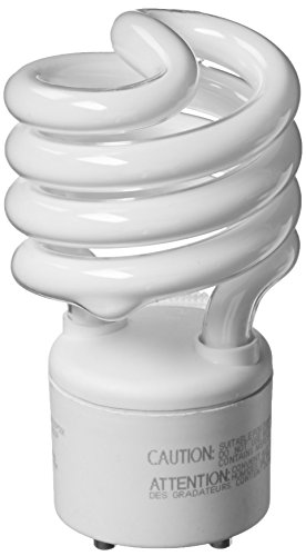 TCP 33123SP50K CFL Spring Lamp - 100 Watt Equivalent (Only 23w used!) Daylight White (5000K) General Purpose Spiral Light Bulb - GU24 Base (Gu24 Bulb compare prices)