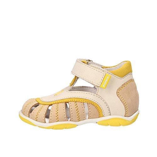 BALDUCCI sandali bambino giallo pelle scamosciata beige AF338 (20 EU)