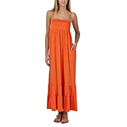 Product Image Xhilaration® Juniors Smocked Back Maxi Dress - Mandarin