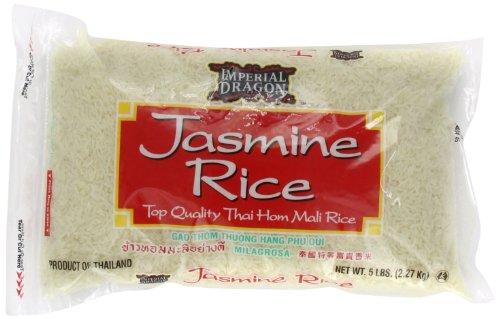 Imperial Dragon Jasmine Rice, 5-Pound (Dragon Rice compare prices)