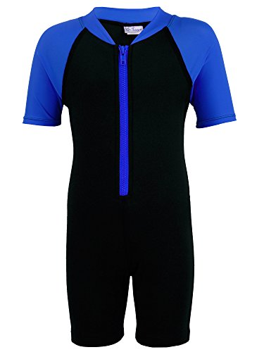 Tuga Boys Thermal Wetsuit (UPF 50+), Royal, XL (13/14 yrs) (Wet Suit Xl compare prices)