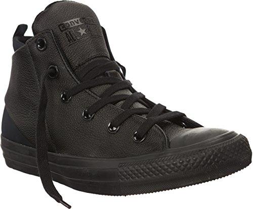 Converse Womens Chuck Taylor All Star Sloane Monochrome Leather Black Sneaker - 9