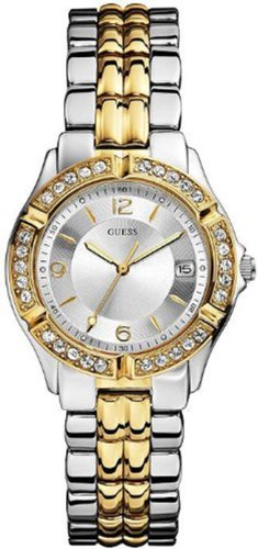 Guess Women's U0026L1 Dazzling Sporty Mixed-Metal Watch