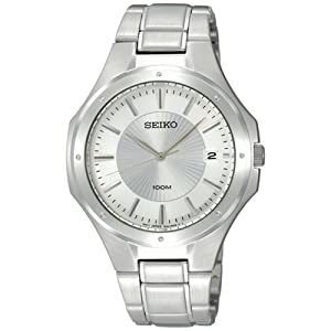 Seiko Men&#39;s SGEF59 Stainless Steel Bracelet Watch