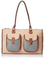 3 Mad Chicks Women's Shoulder Bag (Brown) (SH072)