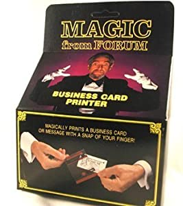 Amazoncom business card printer magic trick everything else for Business card tricks