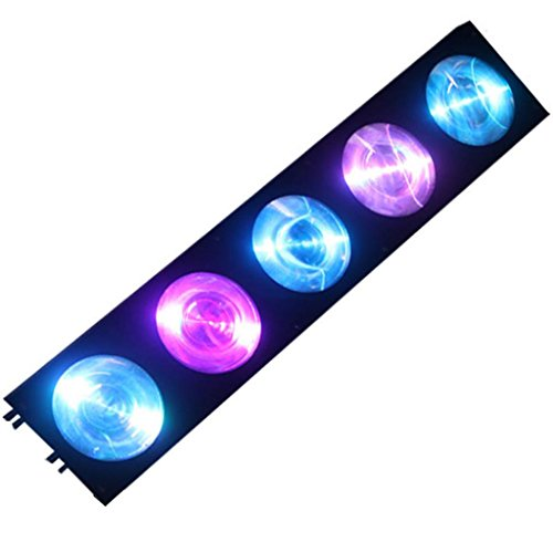 Yiscortm Stage Lighting Cree Led Light 5Lens 10W Rgb 3In1 Dmx512 Matrix For Xmas Christmas Birthday Home Garden Party Club Disco Effect