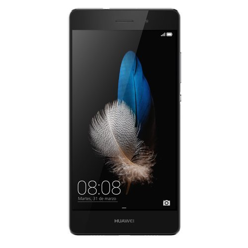 Huawei P8 lite Dual-SIM Smartphone (5 Zoll (12,7 cm) Touch-Display, 16 GB Speicher, Android 5.0) schwarz