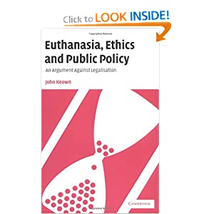 essays the ethics of euthanasia Essay, term paper research paper on euthanasia one of the most hotly debated topics going on now is the one concerning the ethics of assisted suicide and euthanasia.