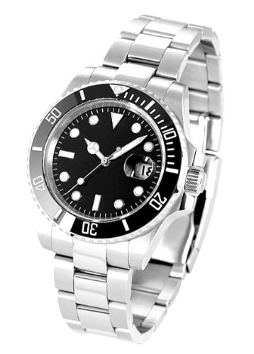 [ノーロゴ]SWISS NOLOGO スイス製 腕時計 自動巻 サブマリーナ NL-003SB3AS(並行輸入品)