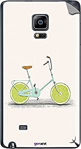GsmKart SGNE Mobile Skin for Samsung Galaxy Note Edge (Green, Galaxy Note Edge-801)