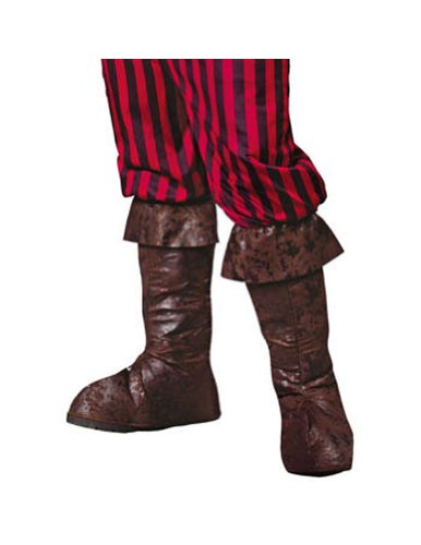 Costume-Footwear Pirate Boot Tops Halloween Costume - 1 size