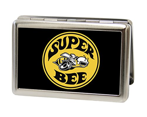 Dodge Automotive - Super Bee Logo - Metal Multi-Use Wallet Business Card Holder (Business Card Holder Shark compare prices)
