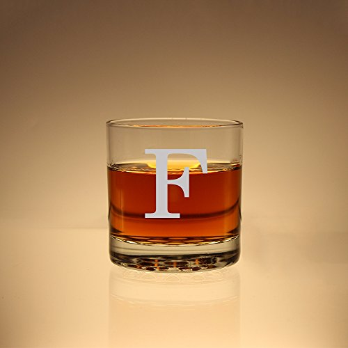 Monogram Scotch Glass, Groomsman Gift, Monogram Whiskey Glass, Etched Rock Glass, Personalized Scotch Glass, Etched Glass , Bourbon Glass (Monogram Personalized Gifts compare prices)