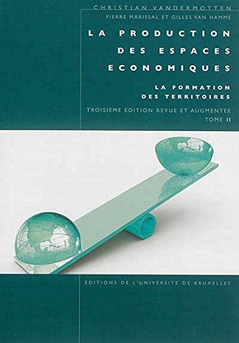 La production des espaces économiques : Tome 2, La formation de territoire en ligne