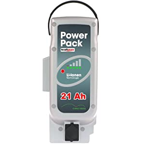Vision Powerpack E-BIKE Akku - 26V / 21Ah [ 546 WH ] - NEUESTE VERSION - für PANASONIC Kalkhoff Flyer Raleight Victoria ebike Pedelec Ersatzakku Power Pack - Kraftmax Edition from E-Bike Vision