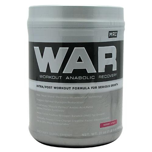 MRI : Medical Research Institute - WAR Workout Anabolic Recovery Berry Attack - 21 oz.
