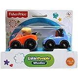 Fisher-Price Little People Wheelies Eddie and Tessa 2-Pack