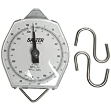 Salter-Brecknell 235-6S Dual Marked Mechanical Hanging Scale with Corrosion Resistant, 220lbs Capacity