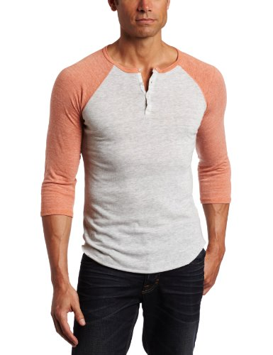 Alternative Men's 3/4 Sleeve Henley Shirt