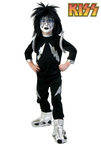 Big Boys' Screenprint Kiss Spaceman Costume