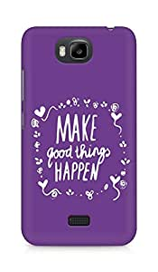 AMEZ make good things happen Back Cover For Huawei Honor Bee