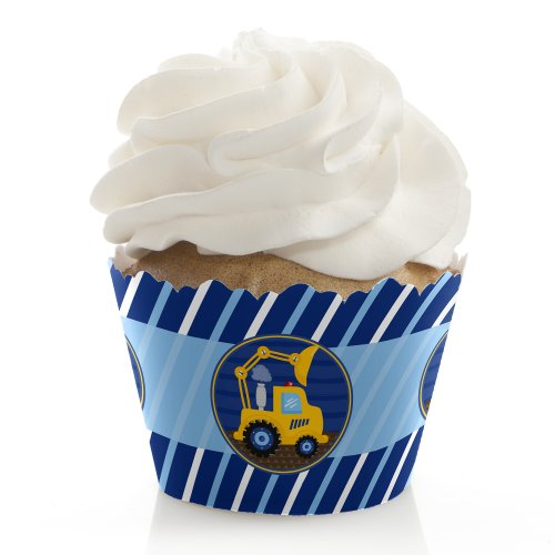 Construction Truck - Cupcake Wrappers (Set Of 12) front-149560